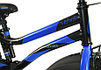 """Детский велосипед HAMMER S500 20"""" Черный/Синий, фото 4"""