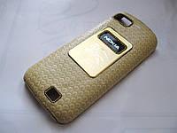 Чехол-бампер Nokia C3-01 Burbery yellow
