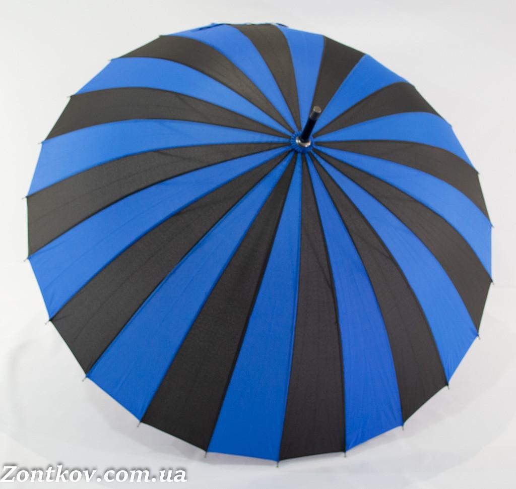 """Женский зонт-трость на 24 спиц от фирмы """"Sun Rain""""."""