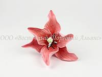 Цветы из мастики - Лилия розовая - Ø 150 - 1 шт.