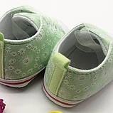 Пинетки-кеды  для девочки 11 см., фото 3