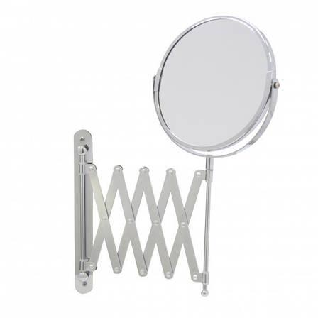 Зеркало косметическое увеличительное настенное Axentia, фото 2