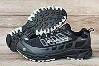 Мужские легкие летние черные кроссовки в стеле Коламбия. Реплика ААА