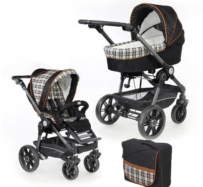 Детская коляска 2 в 1 Teutonia BE YOU V3