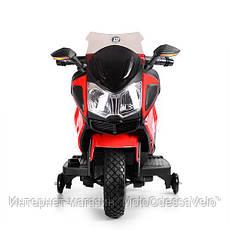 Детский электромотоцикл BAMBI красный, фото 2