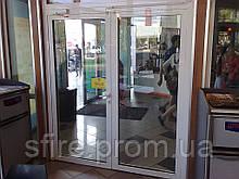 Засклені протипожежні двері EI 30