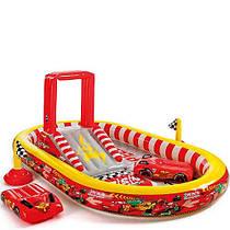 Надувной игровой центр Intex Disney Cars