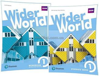Английский язык / Wider World / Student's+Workbook. Учебник+Тетрадь (комплект), 1 / Pearson