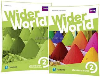 Английский язык / Wider World / Student's+Workbook. Учебник+Тетрадь (комплект), 2/ Pearson