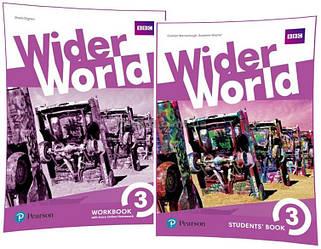 Английский язык / Wider World / Student's+Workbook. Учебник+Тетрадь (комплект), 3/ Pearson