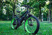 Электровелосипед Reliable FR0026A 1000 Вт Черный с салатовым (5-SAN002)
