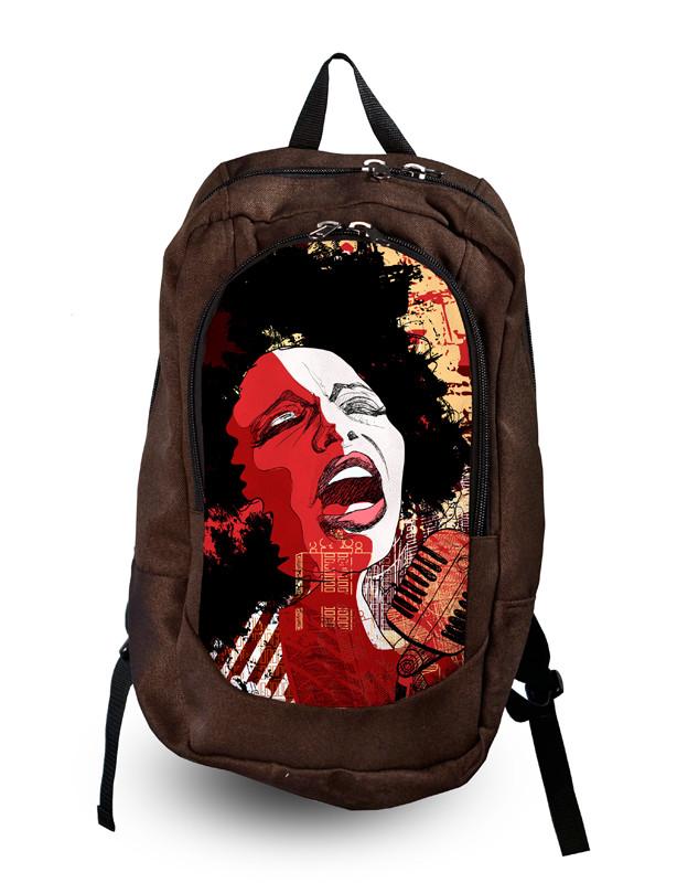 Рюкзак молодежный с принтом!