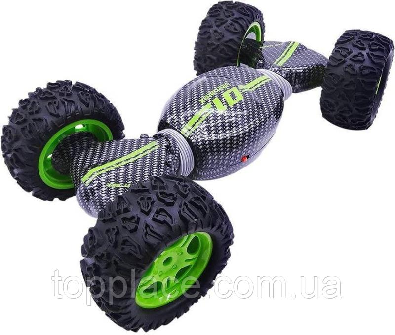Трюкова машинка-трансформер Ultimate X Stunt 4WD, Зелена (RM101001102)