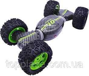 Трюковая машинка-трансформер Ultimate X Stunt 4WD, Зеленая (RM101001102)