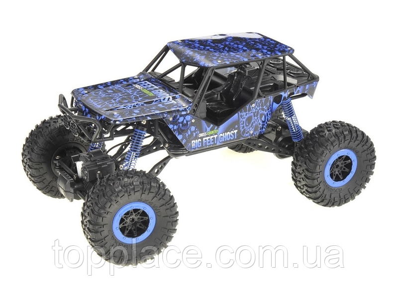 Радиоуправляемая машина Big Feet Ghost 4WD 1:10 Синий (RM101001109)