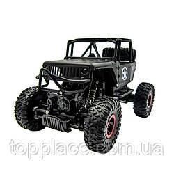 Радиоуправляемый внедорожник JD Toys Defender Rock 4х4 Черный 1:16 (RM101001128)