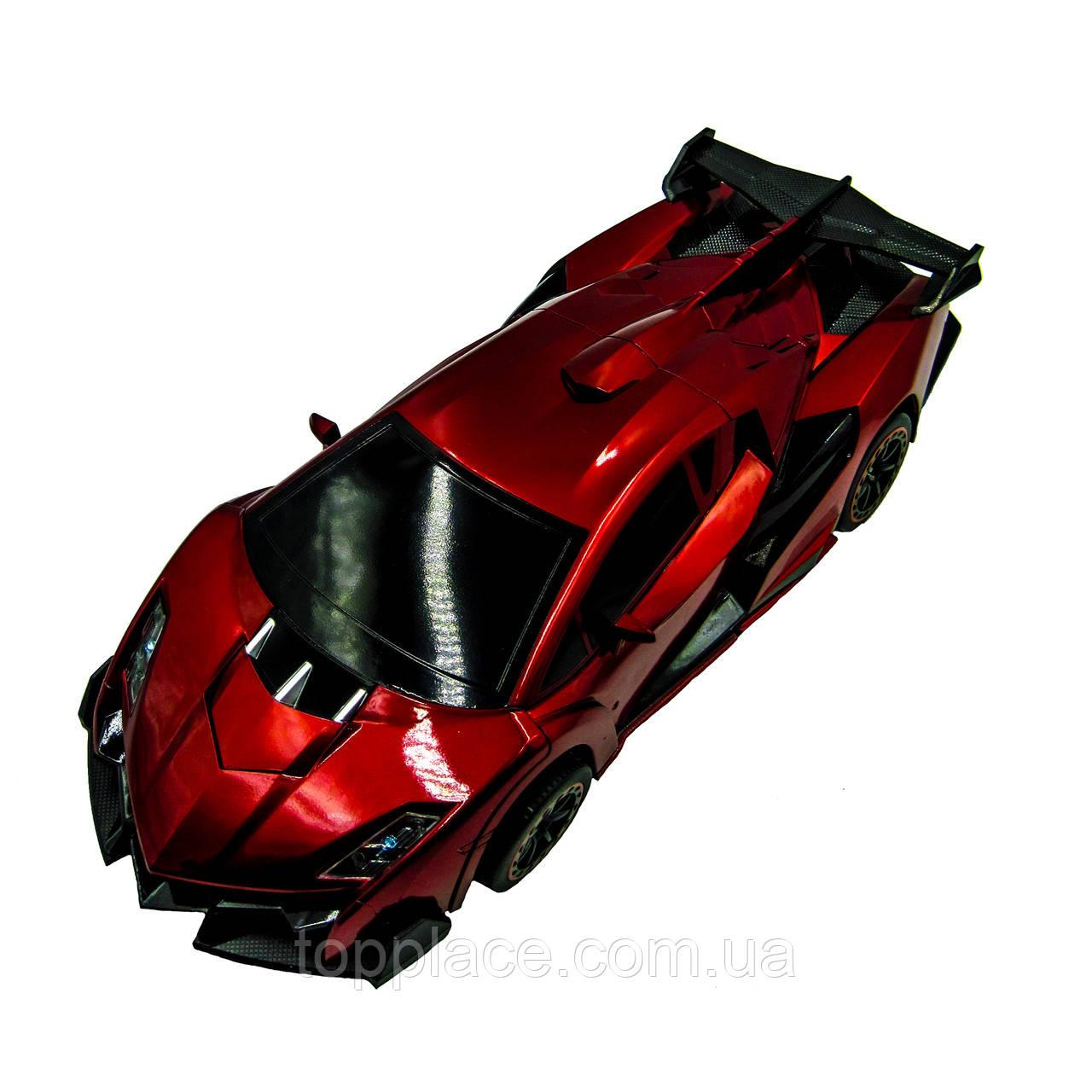 Радиоуправляемая машина-трансформер Jia Qi Troopers Ferrari Veneno 1:14 Красный (RM101001147)
