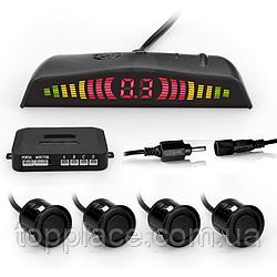 Парковочная система Premium Parking SW858K4 c LED дисплеем, 4 датчика, Черная (AS101005324)