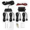 Парковочная система Premium Parking SW858K4 c LED дисплеем, 4 датчика, Черная (AS101005324), фото 2