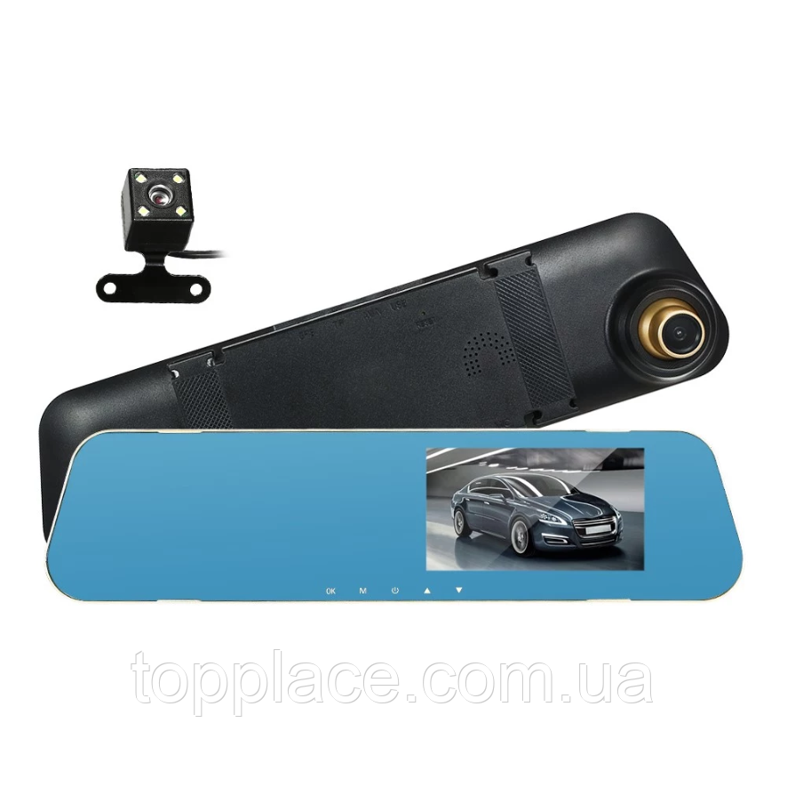 Зеркало заднего вида с видеорегистратором DVR A32 и камерой заднего вида (AS101005327)