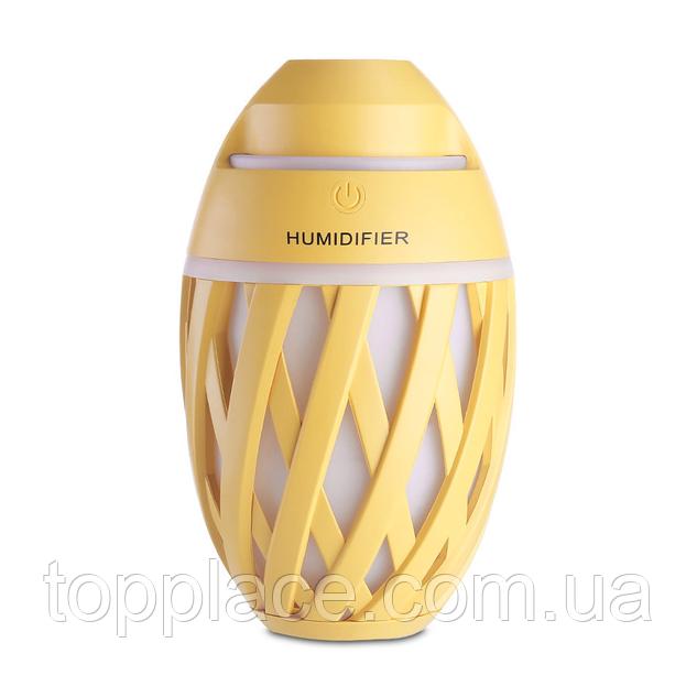 Увлажнитель воздуха Humidifier с функциями диффузора и LED ночника Yellow (LS101005363)