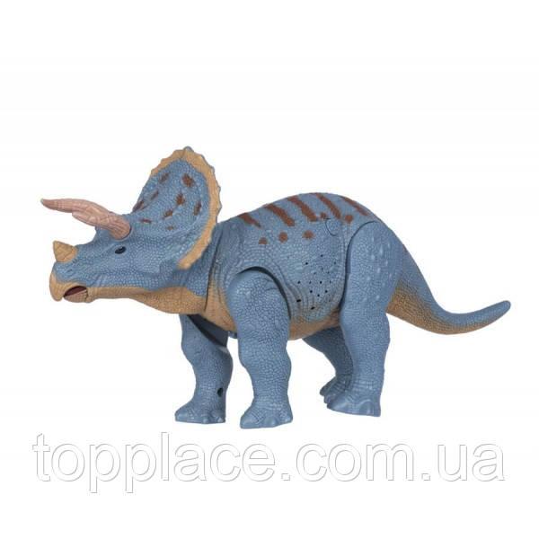 Динозавр на радиоуправлении Same Toy Dinosaur Planet Трицератопс Разноцветный (RM101001140)