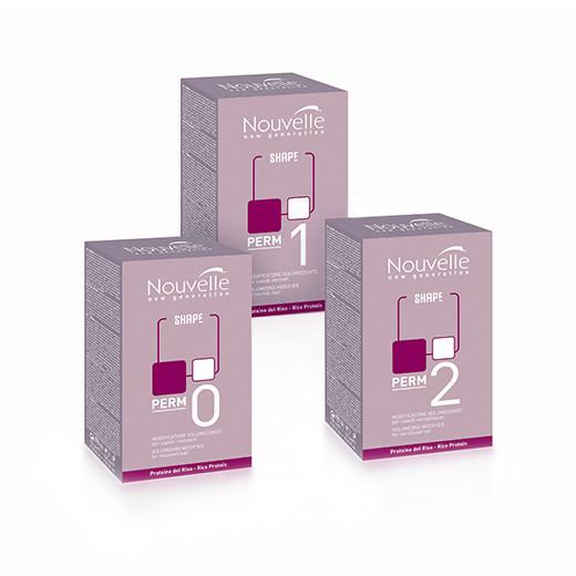 Набор для завивки волос Nouvelle Volumizing modifier + Neutralizer Kit для нормальных волос 1