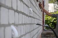 Утепление стен фасада пеноизолом, фото 1