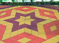 """""""Ромб"""" - создайте неповторимый оптический эффект на вымощенных площадях."""