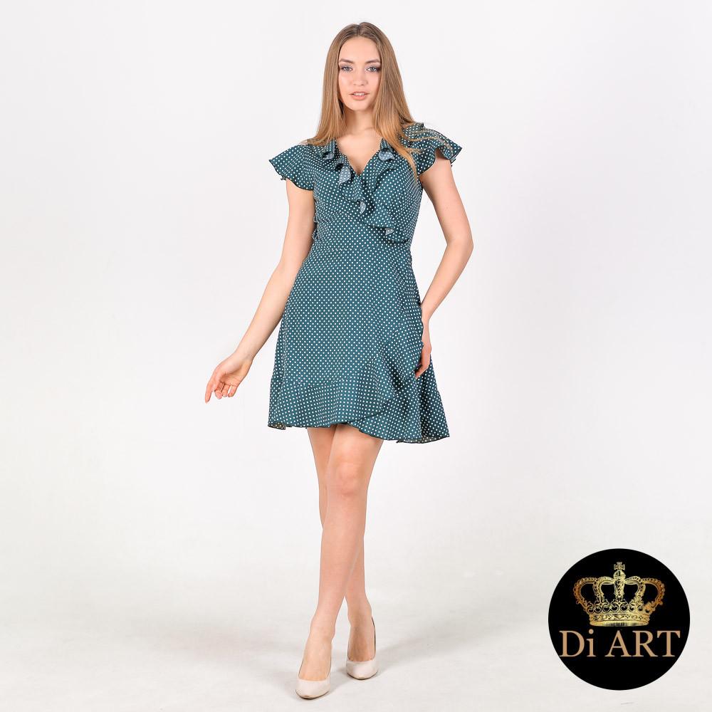 5e2acae921d Платье с Запахом в Горох