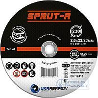 Круг отрезной по металлу Sprut-A 230 x 2.0 x 22.2, фото 1