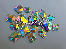 Стразы Lux Космик 14*17мм. Crystal AB