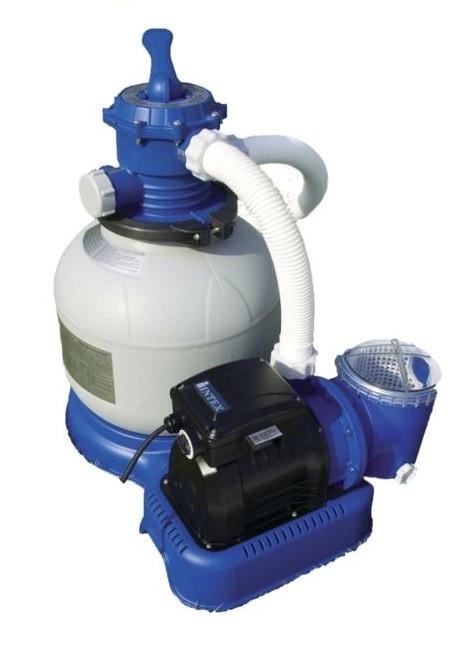 Песочная фильтрационная установка производительностью 6065 л/ч (Intex 56674)
