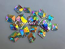 Стразы Lux Космик 16*20мм. Crystal AB