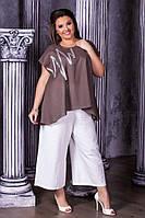 Блуза женская большие размеры Г0187