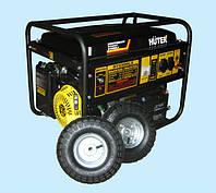 Генератор бензиновый Huter DY6500LX (5,0 кВт) с колесами и аккумулятором