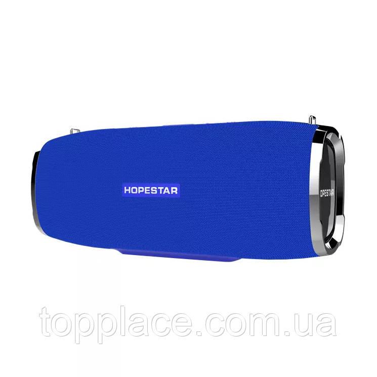 Портативная акустическая стерео колонка Hopestar A6, Синяя (G101001190)
