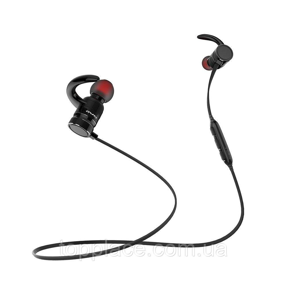 Беспроводные Bluetooth наушники Awei AK4, Black (G101001202)