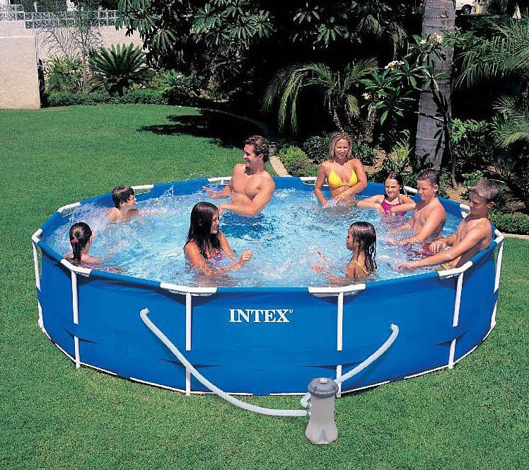 Каркасный круглый бассейн Intex 28212 (366*77 см)