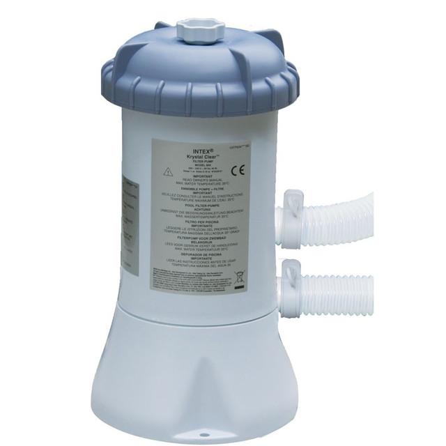 Фильтрационная установка картриджная Intex 58604 производительностью 2006 литров/час