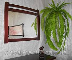 """Настінне дзеркало в дерев'яній рамі """"Сакура"""""""