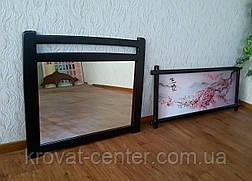 """Настенное зеркало в деревянной раме """"Сакура"""", фото 2"""