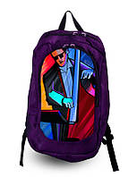 Рюкзак спортивный с принтом!