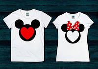 Парные футболки Мики маус, фото 1