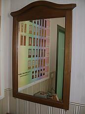 """Дзеркало для спальні в дерев'яній рамці """"Мікель"""", фото 2"""