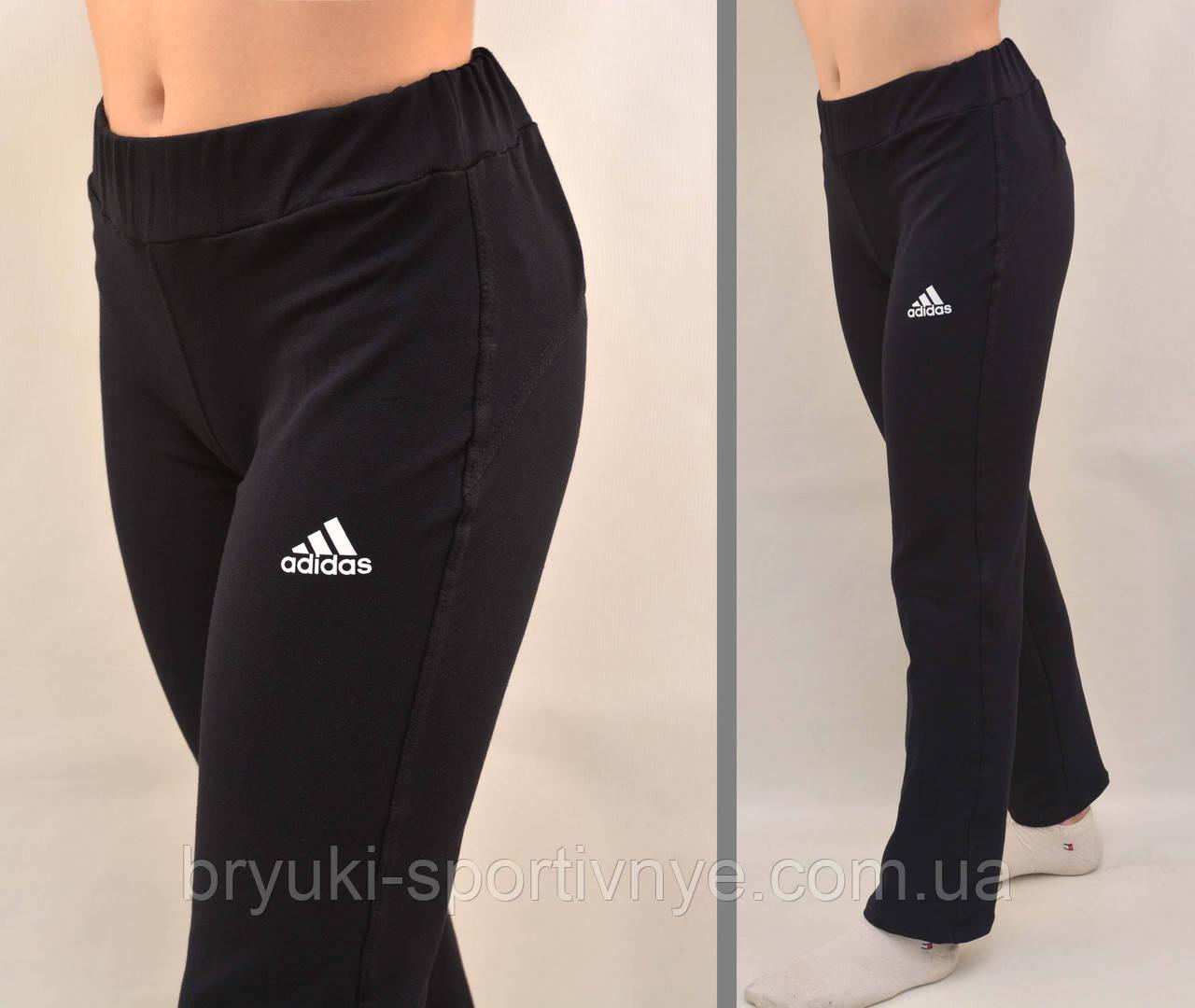 Брюки спортивные женские трикотажные Adidas ( маломерка)