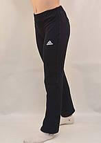 Брюки спортивные женские трикотажные Adidas ( маломерка), фото 3