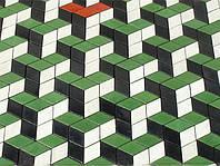 """Тротуарная плитка """"Ромб"""" позволяет легко создать графическое оформление участка."""