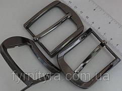 Пряжка ременная 40мм ZK 9013 т.никель