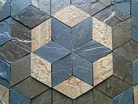 """""""Ромб - """"экологчески чистая плитка, идеально подходит для укладки тротуаров и дворцовых площадей."""